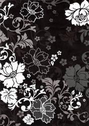 Flora Black by Qi-lin