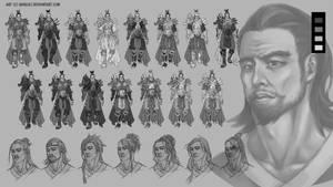 The Royal Keeper Progress by RanqiLi