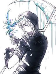 BlueMoon sketch by RanqiLi