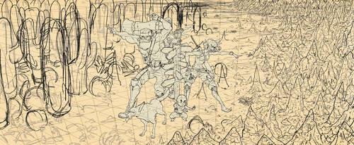 Wip3 background sketch by emperor-smash
