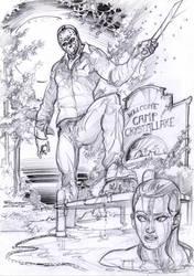 Jason Voorhees- Friday 13 sketch by Francesco-Conte1974