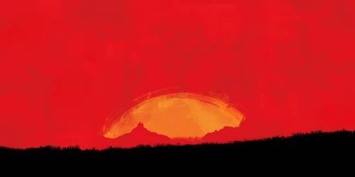 Red-Dead-3-teaser-art-Template by MrGalih