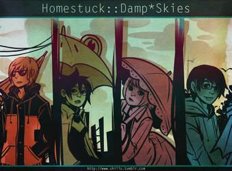 Homestuck:: Damp Skies by Shilloshilloh