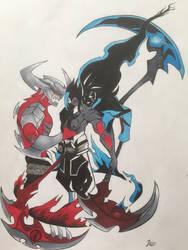 Kayn The Shadow Reaper by JU0