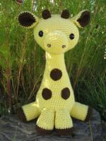 Amigurumi Giraffe by djonesgirlz