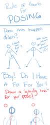Rule of Thumb for Posing by Rirouku