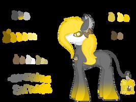 Flamelight pony OC: Evening sorrows by Dottybobbles