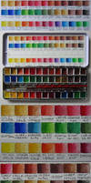 Colorchart Selfmade Aquarellcolor by pesim65