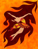 Dance of the Firebird by purpledragon42