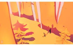 DnP in the woods by Julia-Kisteneva