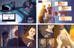 About Hank and Connor by Julia-Kisteneva
