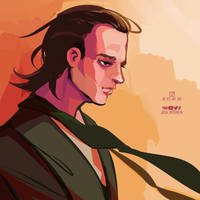 Loki by Julia-Kisteneva