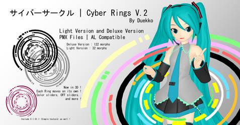 [MMD DOWNLOAD] .: Cyber Rings V.2 :. by Duekko