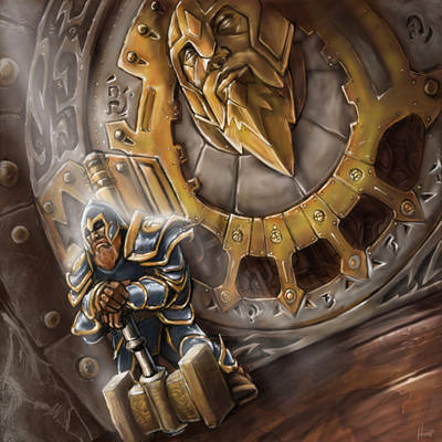 Vault of the Dwarves by FredHooper