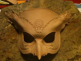 Hades Owl Mask WIP by b3designsllc