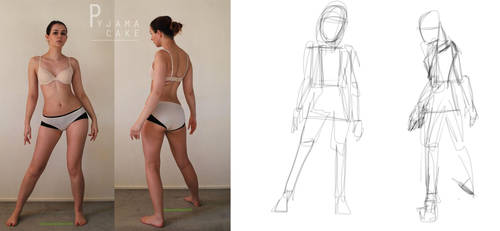 Character Design: BUILDING THE FIGURE by TCH717