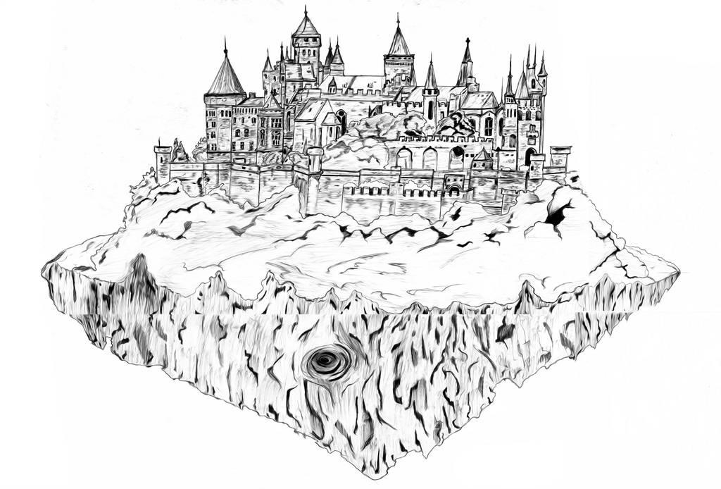 Castle In The Sky by ARNOLDXYZ