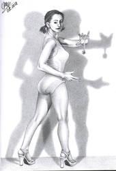 Woman Study by AlienOffspring