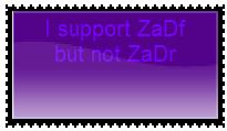 Supporter of ZaDf Anti ZaDr by TechouNoPenki