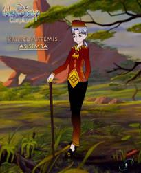 Walt Disney Cosplays: Prince Artemis as Simba by TechouNoPenki