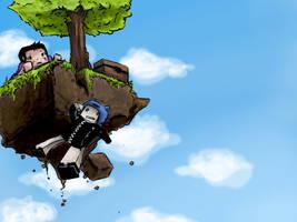 Sky Block by Teacupika