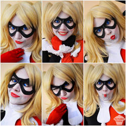 Classic Harley Quinn by ThePuddins