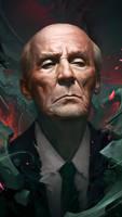 Mravinsky portrait by cloudintrousers