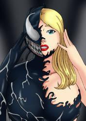 She-Venom by MillyArt93