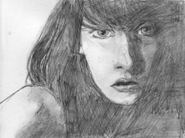 Pencil Portrait Practice by Shutsumon