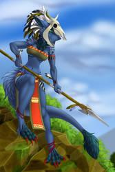 Huntress by TalesFoxdale