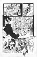 Captain America 21 pg 9 by JesseDelperdang