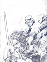 Sketch: Jedi by JesseDelperdang