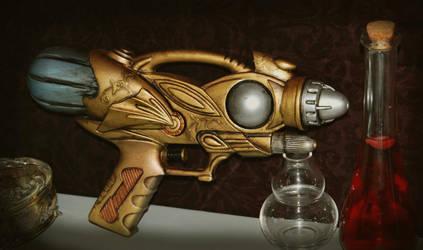 Steampunk Gun by Oriana132