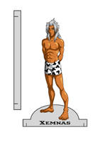 Xemnas Paper Doll Base by Oriana132