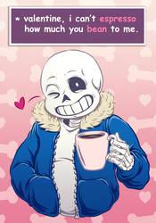 Valentine's Sans by Oriana132