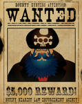 Blue Beard Wanted Poster by genkimon