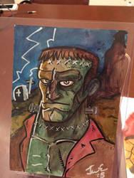Frankenstein sketch by genkimon
