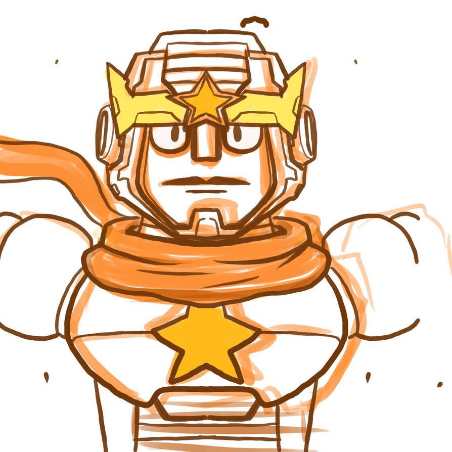 Hero robot sketch by genkimon