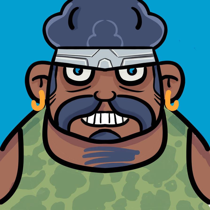 Action hero by genkimon