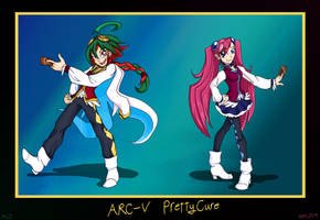 ARC-V Pretty Cure! by MyLittleSonic