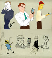 Samples of business men by Nicoob