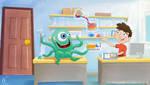 Playing on Lab by Nicoob