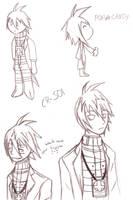 Practice Doodles - CR-S01 by Kiki-Akuma