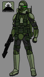 10th Mountain Division Clone Trooper Redesign by PD-Black-Dragon