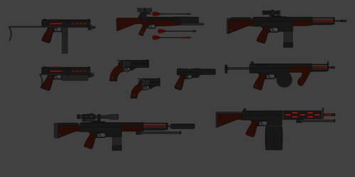 Phoenix Weapons Part 1 by PD-Black-Dragon