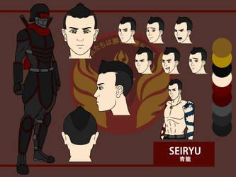 Seiryu by PD-Black-Dragon