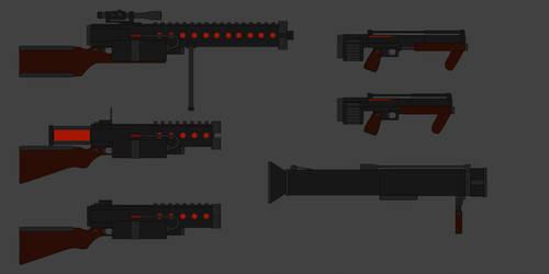 Phoenix Weapons 2 by PD-Black-Dragon