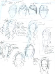 Hair tutorial by burdge