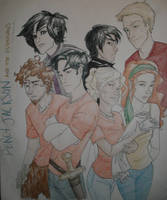 Percy Jackson n the Olympians by burdge