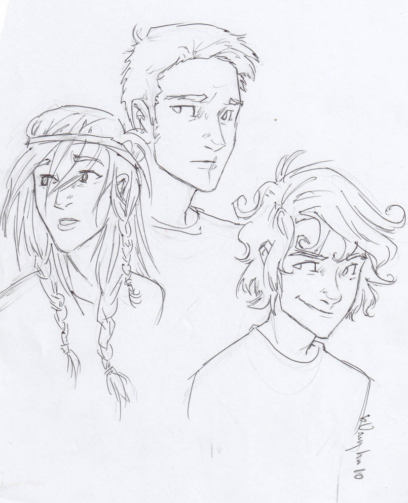 the new trio. by burdge
